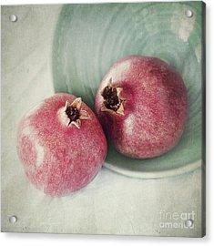 Cuddling Acrylic Print by Priska Wettstein