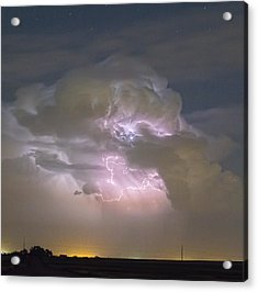 Cumulonimbus Cloud Explosion Portrait Acrylic Print by James BO  Insogna