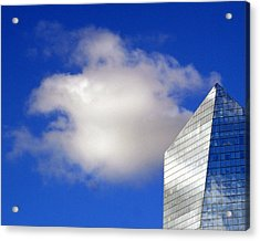 Cumulus And Cira Acrylic Print by Lisa Phillips