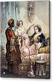 Cup Of Coffee, 1858 Acrylic Print by Amadeo Preziosi