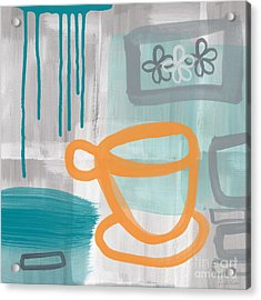Cup Of Happiness Acrylic Print by Linda Woods