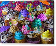 Cupcake Galore Acrylic Print by Aimee Stewart