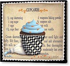 Cupcake Masterpiece Acrylic Print by Catherine Holman