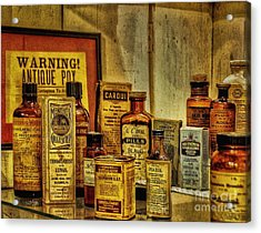 Cure Ya Or Kill Ya Acrylic Print by Lois Bryan