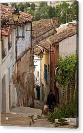 Currruca Slope Of Calahorra Acrylic Print by RicardMN Photography