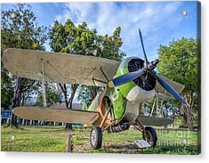 Curtiss Hawk IIi  Acrylic Print by Adrian Evans
