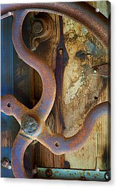 Curves And Lines II Acrylic Print by Stephen Anderson