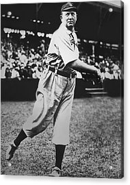 Cy Young Acrylic Print by Retro Images Archive