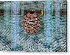 Cyber Bomb Acrylic Print by Carol & Mike Werner