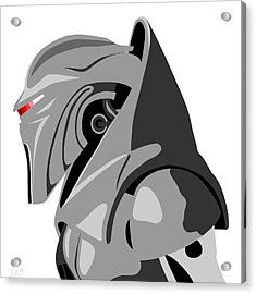 Cylon Acrylic Print by Paul Dunkel
