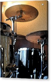 Cymbal Of Authority Acrylic Print by Everett Bowers