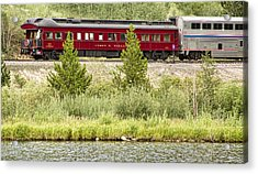 Cyrus K  Holliday Private Rail Car Acrylic Print by James BO  Insogna