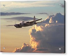 D  H Mosquito - Pathfinder Acrylic Print by Pat Speirs