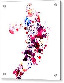 D Wade Acrylic Print by Brian Reaves