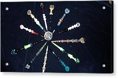 Dabbers And A Dish Acrylic Print by Glass Dabber