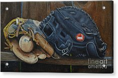 Let's Play Catch Acrylic Print by Ralph Taeger