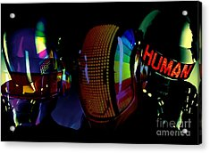 Daft Punk Painting Acrylic Print by Marvin Blaine