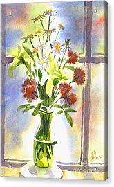 Daisy Supreme Acrylic Print by Kip DeVore