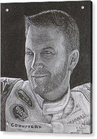 Dale Earnhardt Jr. 2 Acrylic Print by Rick Yanke