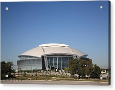Dallas Cowboys Stadium Acrylic Print by Frank Romeo