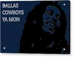Dallas Cowboys Ya Mon Acrylic Print by Joe Hamilton