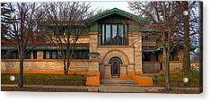 Dana Thomas House Springfield I L Acrylic Print by Steve Gadomski