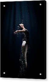 Dance In The Water Acrylic Print by Semra Halipoglu