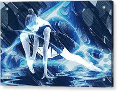 Dance Of Light Acrylic Print by Marina Likholat