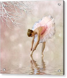 Dancer In Water Acrylic Print by Sharon Lisa Clarke