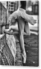 Dancer Acrylic Print by Michael Groenewald