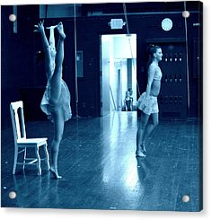 Dancers And Little Watchers Acrylic Print by Jon Van Gilder