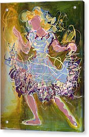 Dancing 1 Acrylic Print by Marilyn Jacobson