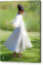 Dancing In The Sun Acrylic Print by Theresa Tahara