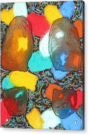 Dancing Shoes Acrylic Print by Russell Zellers
