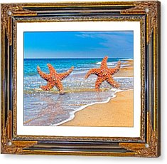 Dancing To The Beat Of The Sea Acrylic Print by Betsy Knapp