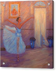 Dancing To The Light Acrylic Print by Glenna McRae