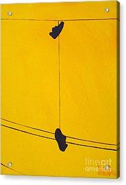 Dangling Souls Acrylic Print by Michael Ciccotello