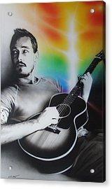 'daniel Johns' Acrylic Print by Christian Chapman Art