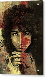 Danny Acrylic Print by Corporate Art Task Force