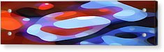 Dappled Light Panoramic 3 Acrylic Print by Amy Vangsgard