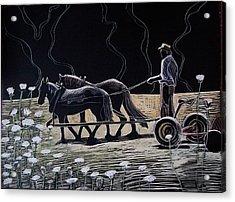 Dark And Light Acrylic Print by Grace Keown