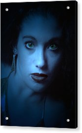 Dark And Mysterious  Acrylic Print by Teri Schuster