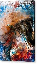 Dark Angel Acrylic Print by Petros Yiannakas