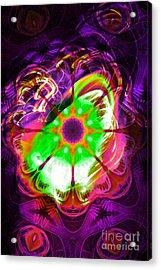 Dark Energy Acrylic Print by Aeres Vistaas