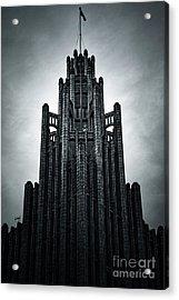 Dark Grandeur Acrylic Print by Andrew Paranavitana