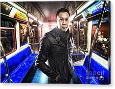 Dark Passenger Acrylic Print by Yhun Suarez