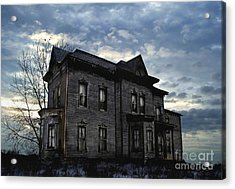 Dark Ruttle County Acrylic Print by Tom Straub