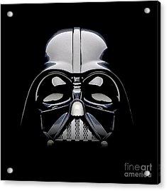 Darth Vader Helmet Acrylic Print by Jon Neidert