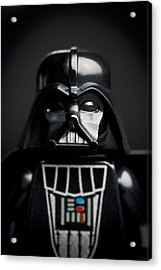 Darth Vader Acrylic Print by Samuel Whitton