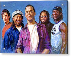 Dave Matthews Band Acrylic Print by Viola El